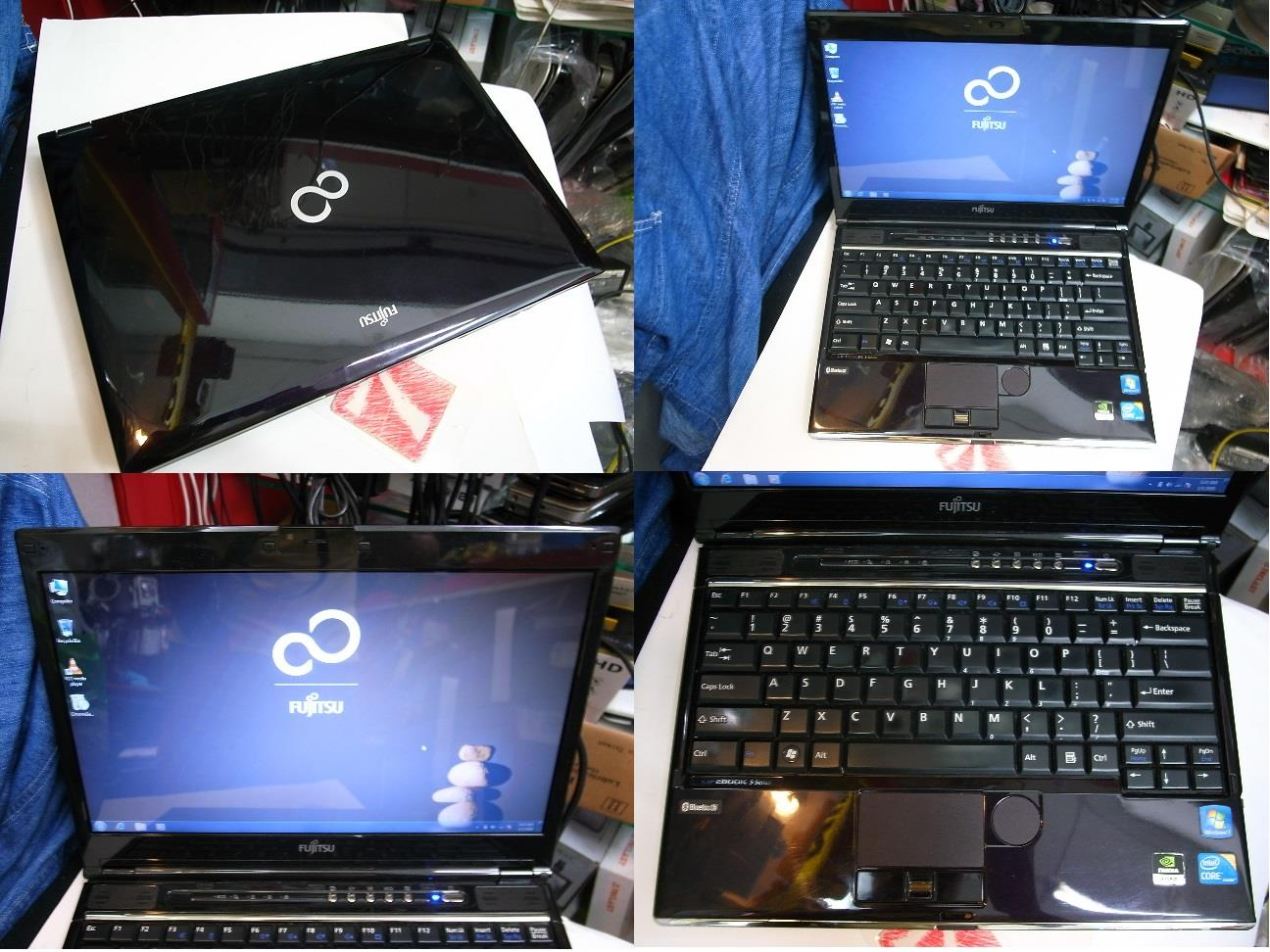 Fujitsu LifeBook SH560 i5 2.4GHz Nvidia 13 INCH Laptop Notebook Rm850