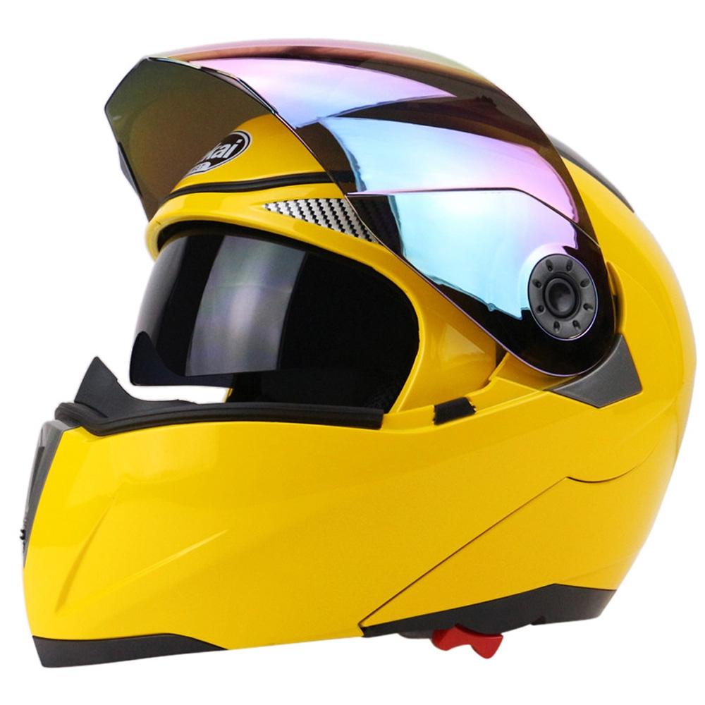 eba06878 FULL FACE MOTORCYCLE HELMET DUAL VI (end 11/12/2019 2:00 PM)