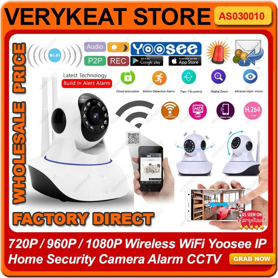 FULL HD 1080P Wireless WiFi Yoosee IP Home Security Camera Alarm CCTV