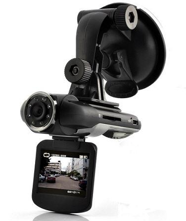 Full HD Car DVR with Rotating Screen + Wide Angle (WCR-13C).