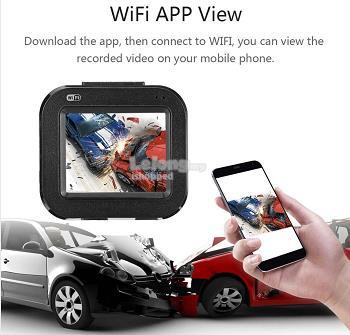 Full HD Mini WiFi Car DVR Camera Dash Cam Video Recorder For App Phone