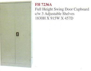 Full Height Swing Door Steel Office Cabinet