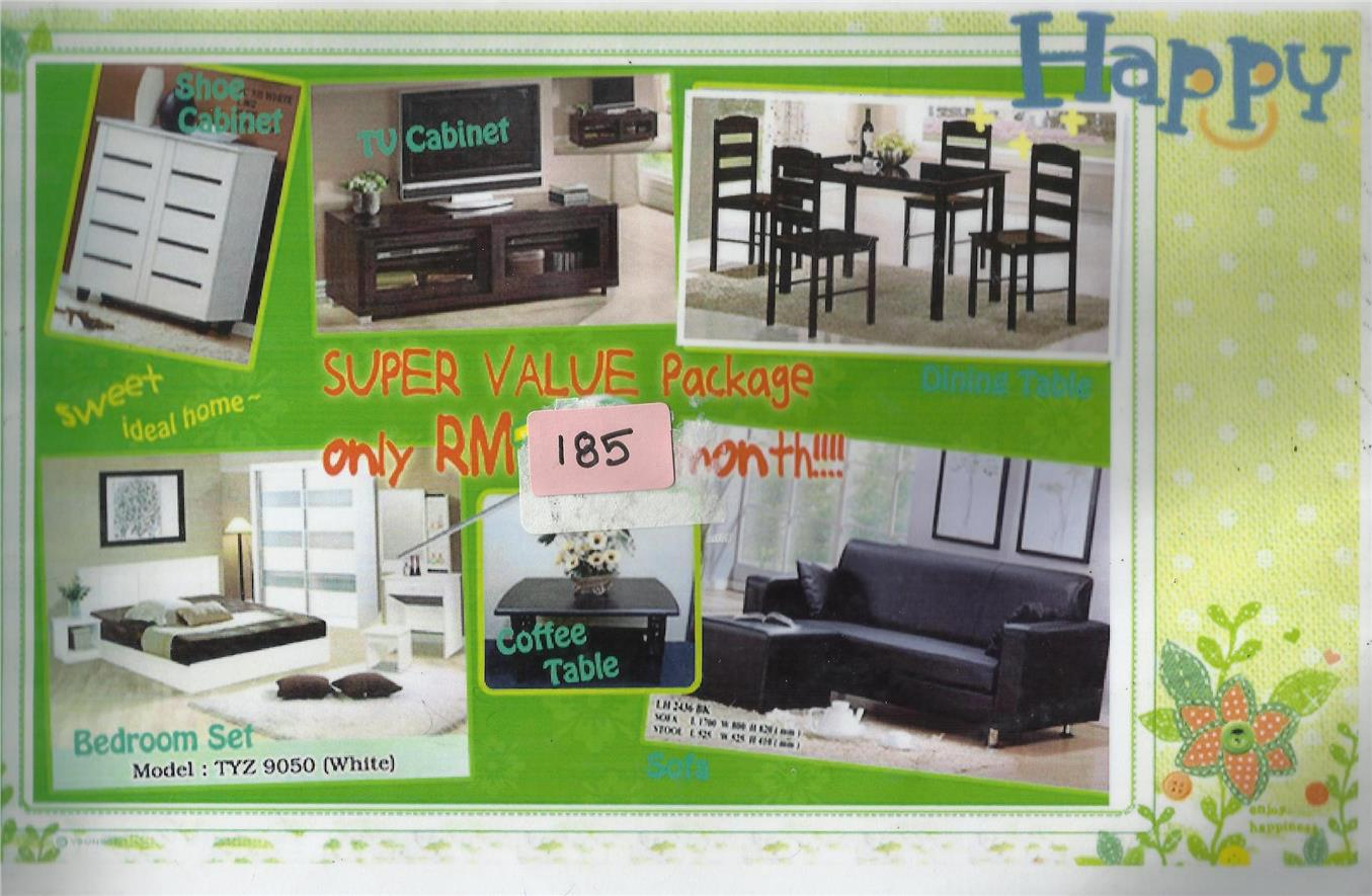 FULL PACKAGE 7 IN 1 HOME FURNITURE RM185