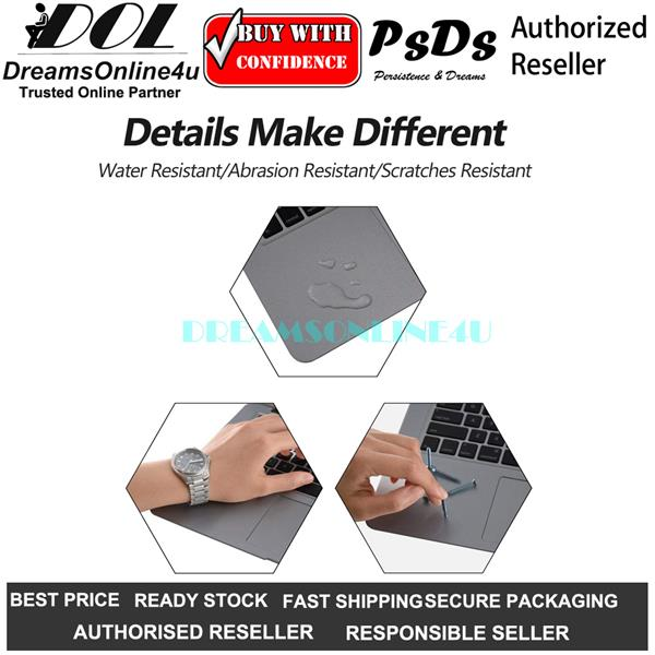Full Palm Rest Trackpad Skin Sticker Protector MacBook Pro 13 A1278