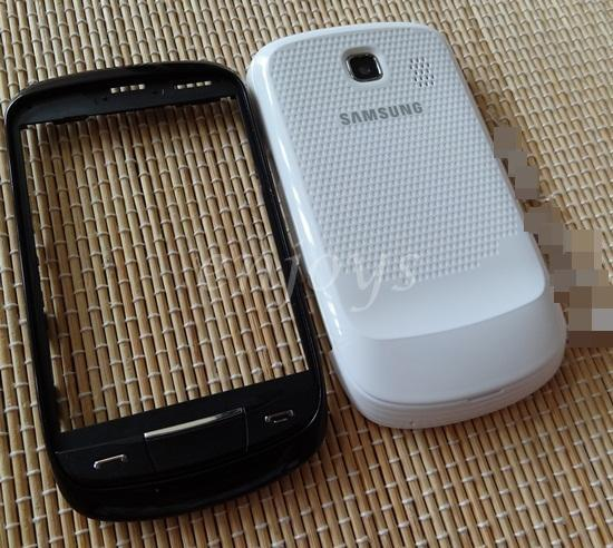 Full Set HOUSING Casing for Samsung S3850 Corby II 2 ~WHITE