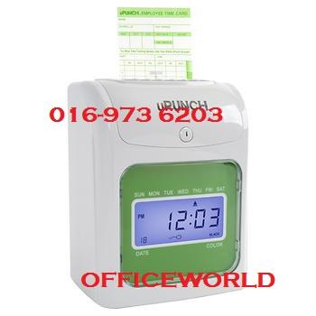 FULLY DIGITAL TIME RECORDER PUNCHCARD MACHINE ( 10 YEARS WARRANTY )