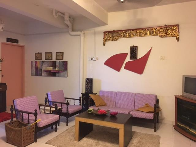Fully Furnished Duplex Apartment, Pangsapuri Parameswara ,Bandar Hilir