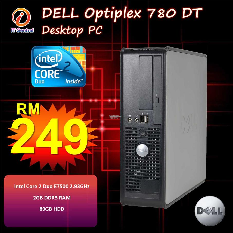 Fully refurbished Dell Optiplex 380 DT desktop PC - basic computing