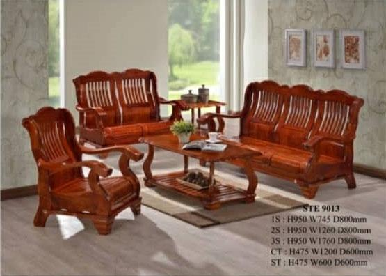 Peachy Fully Solid Wood Sofa Set 1 2 3 Sofa Lounge Chair Relax Sofa Download Free Architecture Designs Photstoregrimeyleaguecom