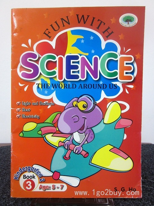 FUN WITH SCIENCE KINDERGARTEN 2 BOOK 3