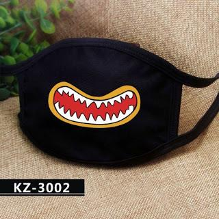 Funny Mouth Face Mouth Mask