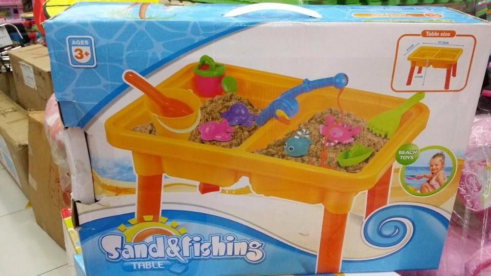 Funny Sand Beach Table Beach Toy ,bath Fish Toys,rubber Fishing Toy Fo