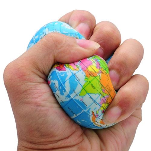 Funny world map globe foam stress re end 782019 1255 pm funny world map globe foam stress relief bouncy ball gumiabroncs Choice Image