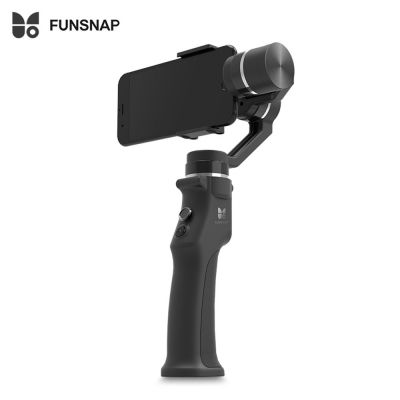 FUNSNAP Capture 3-axis Handheld Brushless Gimbal Stabilizer (BLACK)