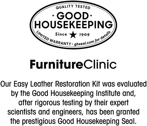 Furniture Clinic Leather Easy Restoration Kit | Set Includes Leather Recolorin