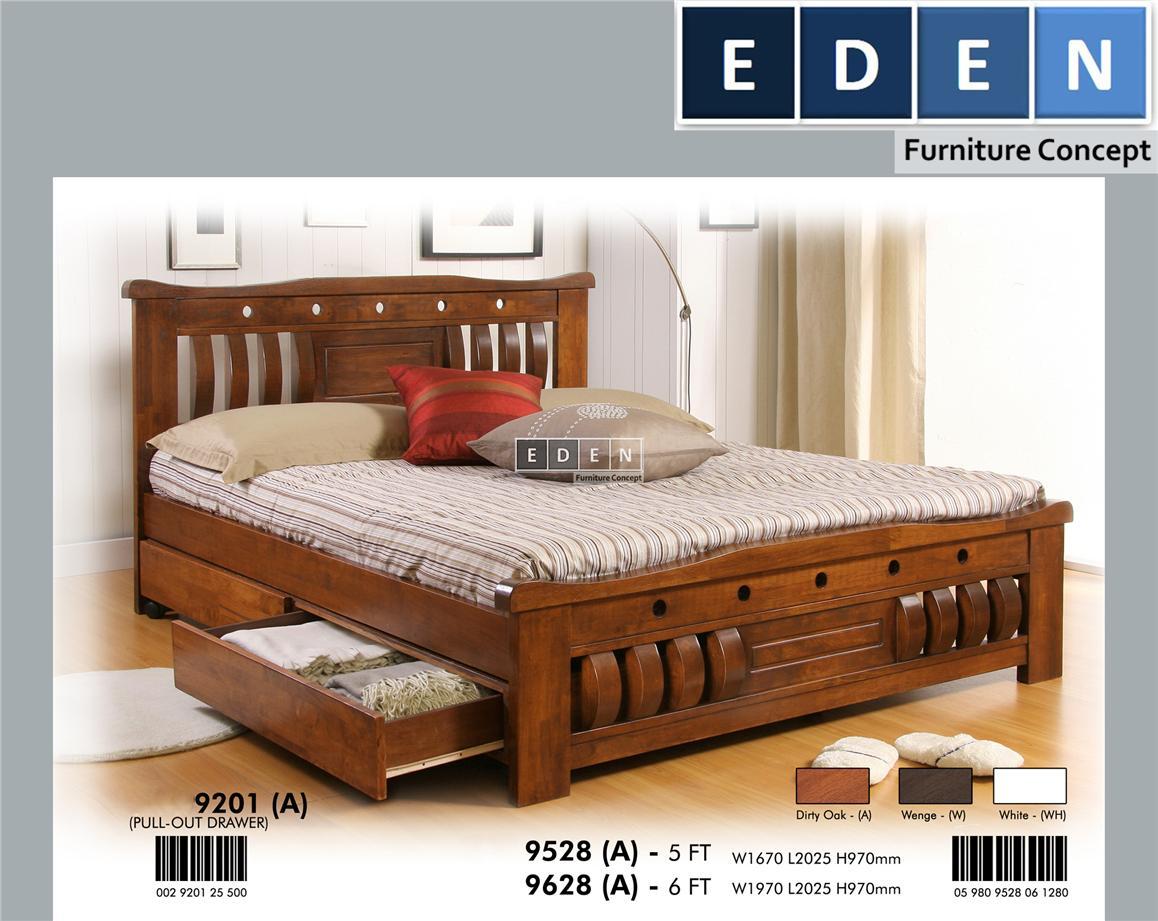 Furniture Malaysia Bed Frame King Size Bingkai Katil Ena9628