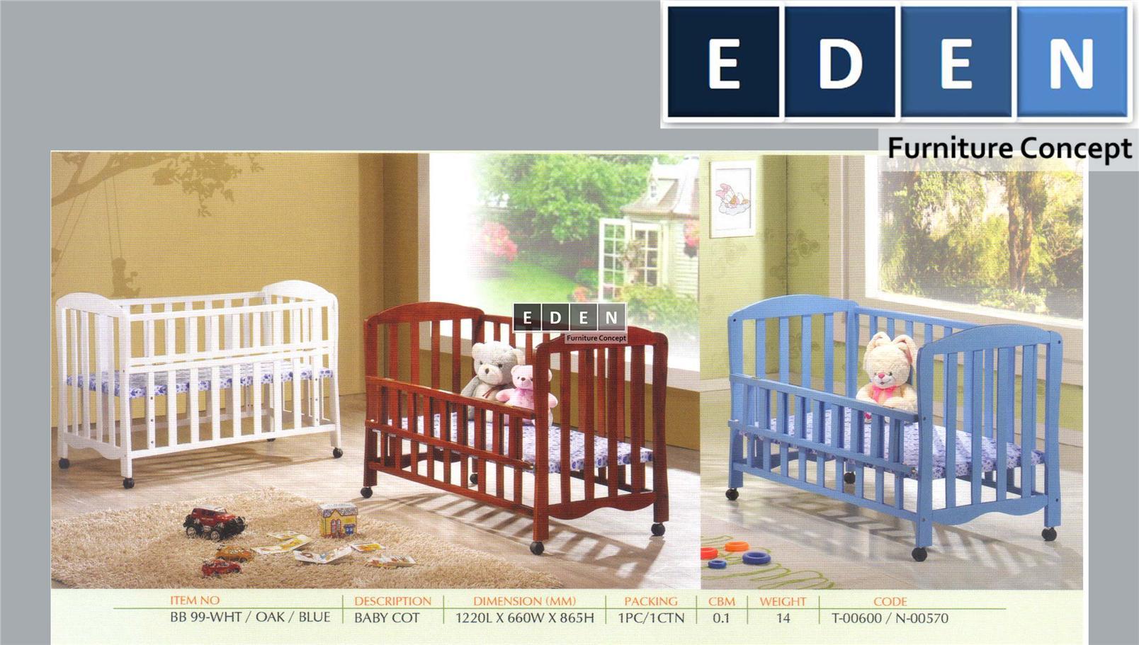 Furniture Malaysia Bedroom Baby Cot Katil Bayi 99