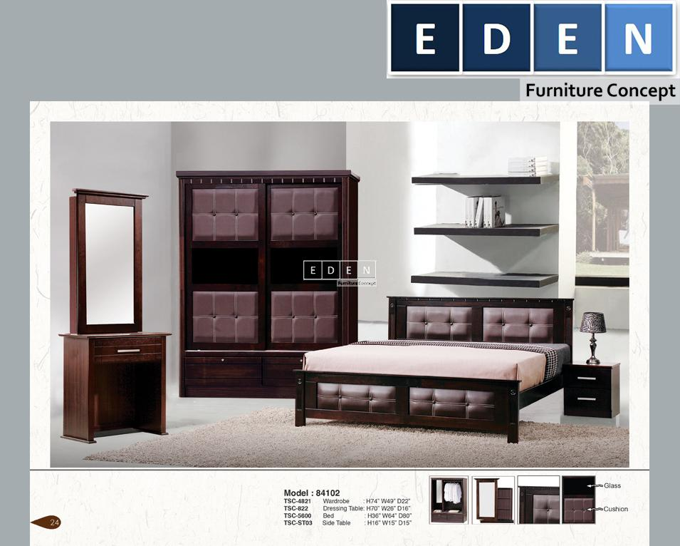 Furniture Malaysia Bedroom Set Kahwin 84102