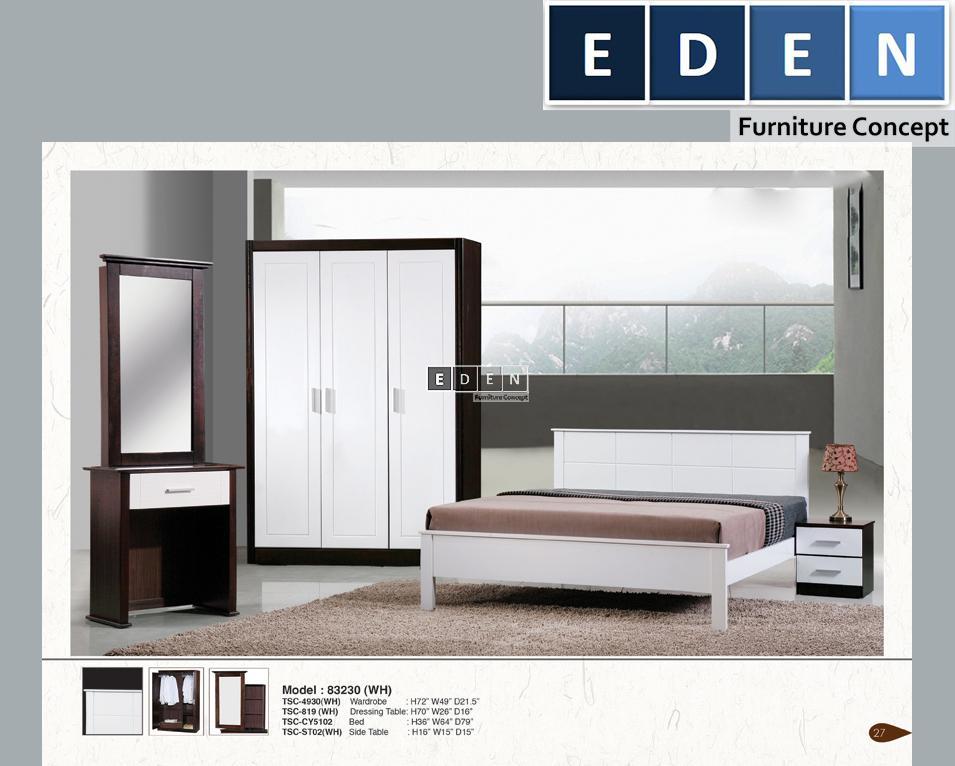 FURNITURE MALAYSIA | BEDROOM SET | SET BILIK TIDUR 83230. U2039 U203a