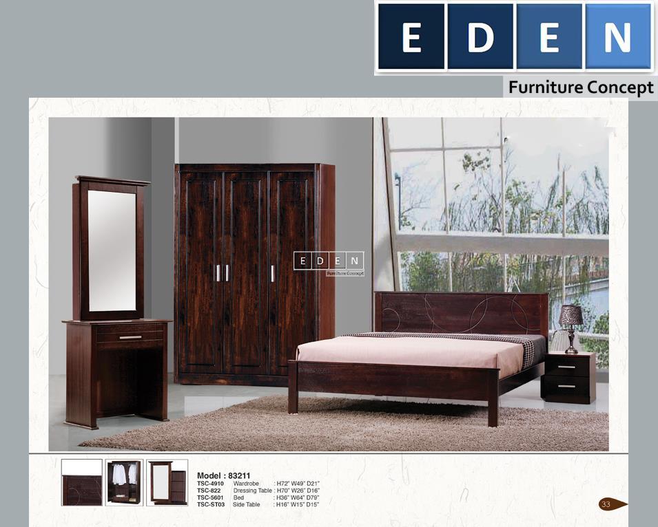 Furniture Malaysia Bedroom Set Bilik Tidur 83211