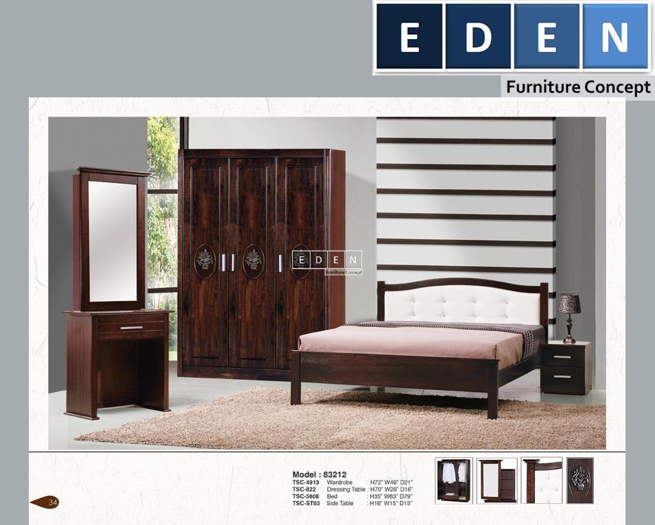 Furniture Malaysia Bedroom Set Bilik Tidur 83212