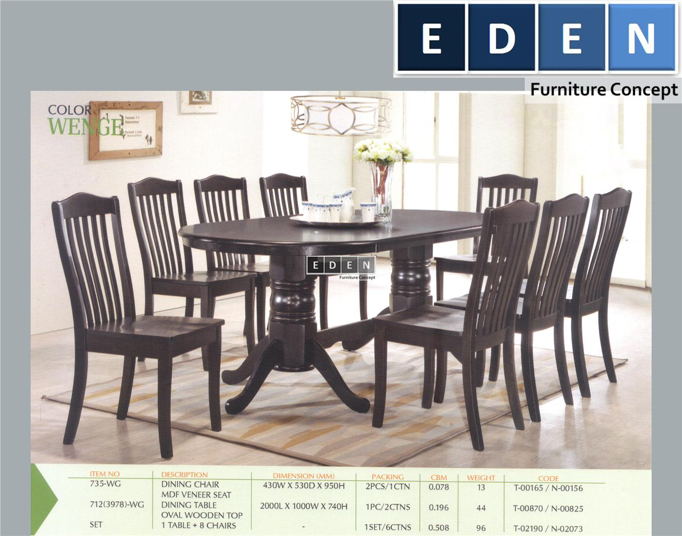 Furniture Malaysia Kitchen Dining End 6 10 2017 1115 Pm 1 Set Meja Makan Table 712s