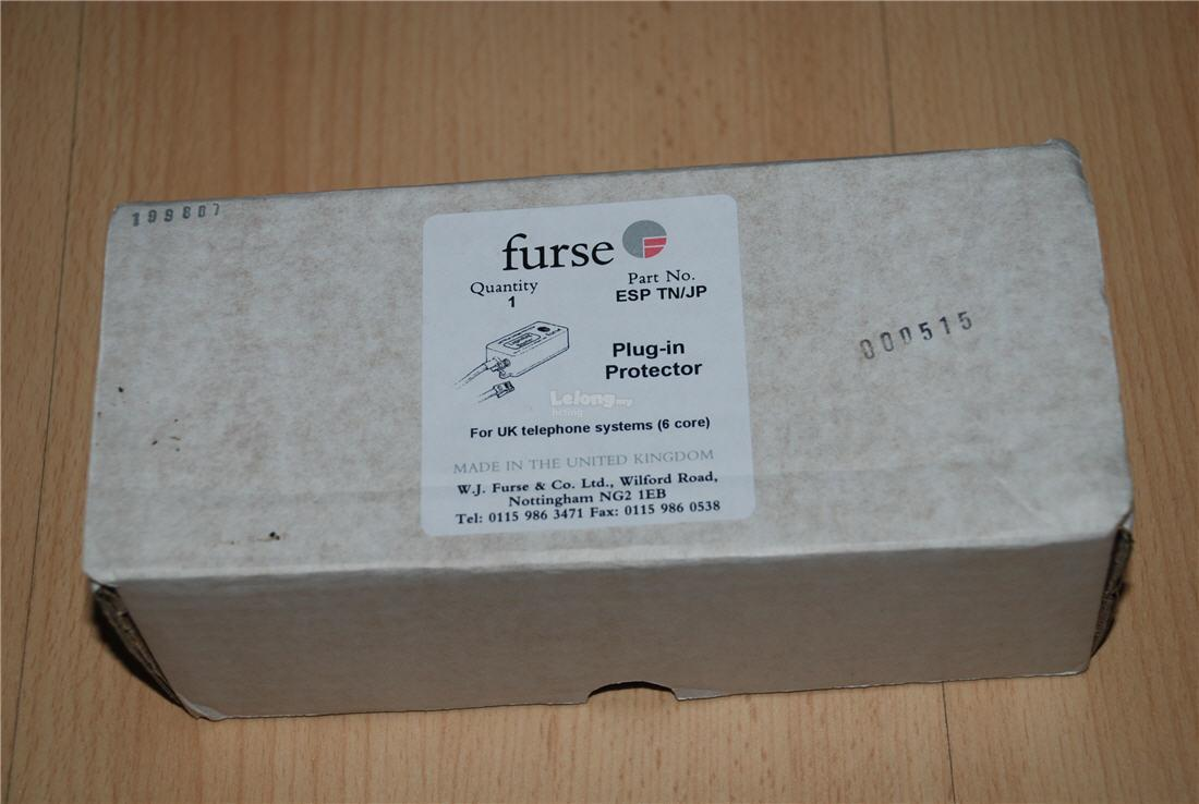 Furse Lightning Protector for Telephone Line Fax Modem & Streamyx