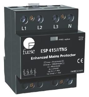 FURSE Lightning Protector TRANSIENT OVER VOLTAGE SPD (ESP 415/III/TNS)