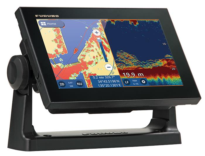 Furuno GP-1971F GPS/WAAS Chart Plotter with built-in CHIRP FISH FINDER