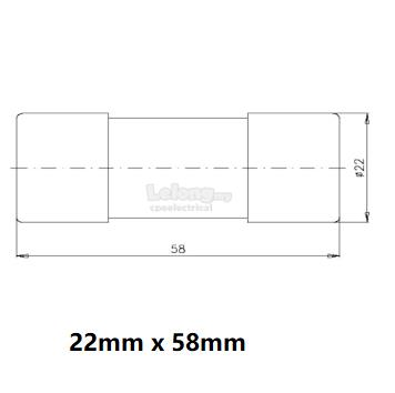 Fusegear 30a 60a Hrc Fuse Link Cut End 6162022 1015 Pm