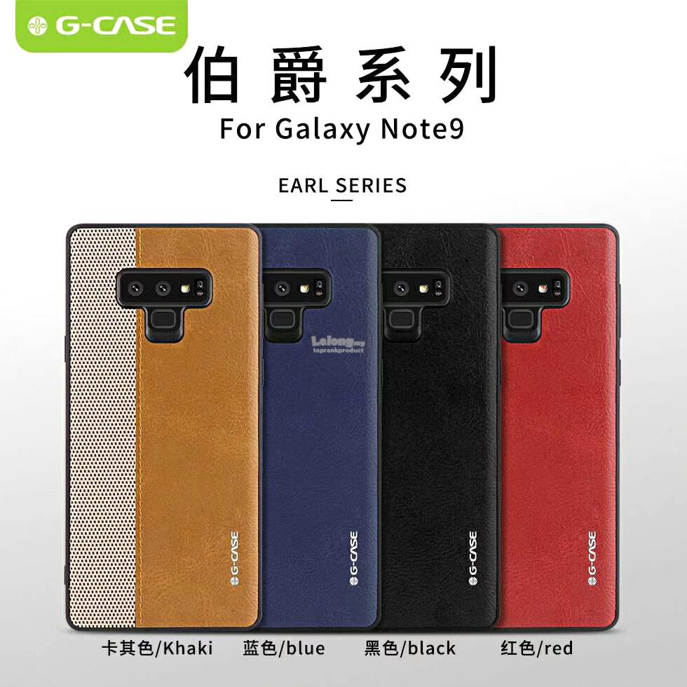 G-CASE Samsung Galaxy Note 8 9 S9 S9+ Plus Back Case Cover Casing