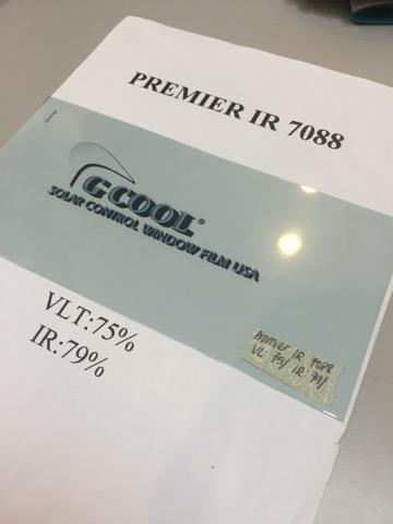 G Cool USA Premier IR 7088 car window tinting film