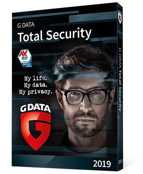 G Data Total Security 2020 - 1 Year 3 PC Windows 7 8 10 Home Pro