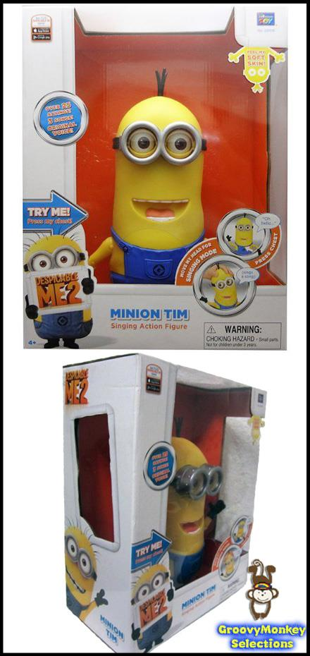 *G.M.* GENUINE MINION TIM from Thinkway Toys (Mint Condition)