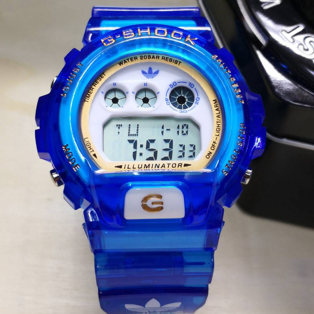 G SHOCK ADIDAS JELLY PROMOTION