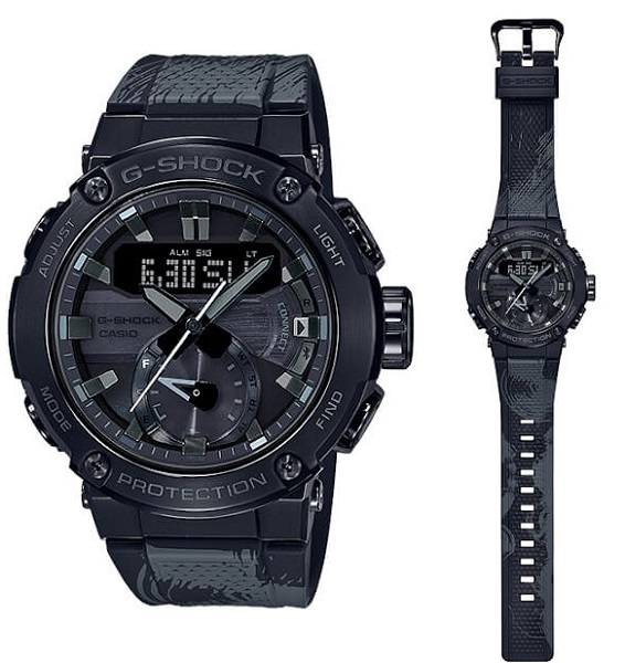 G-SHOCK G-STEEL X FORMLESS TAIJI  GST-B200TJ-1A GST-B200TJ-1ADR Watch
