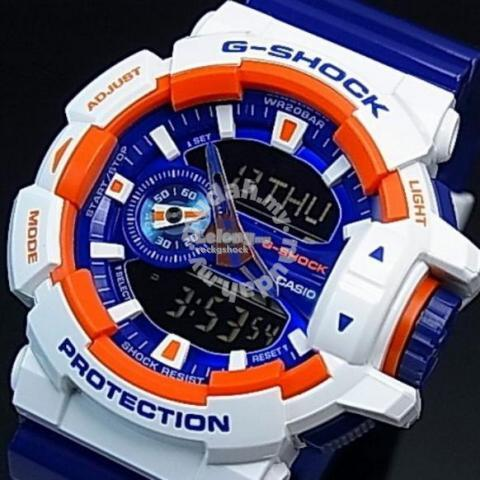 aee5c9b700e07 G-SHOCK- GA 400 CS(Blue White) (end 6 2 2017 4 15 PM)
