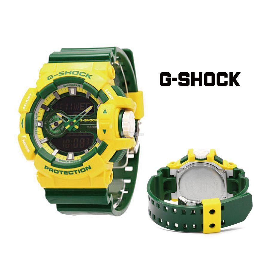 4a4b026cd6707 G-SHOCK-GA 400 CS(Yellow Green) (end 6 3 2017 11 15 AM)