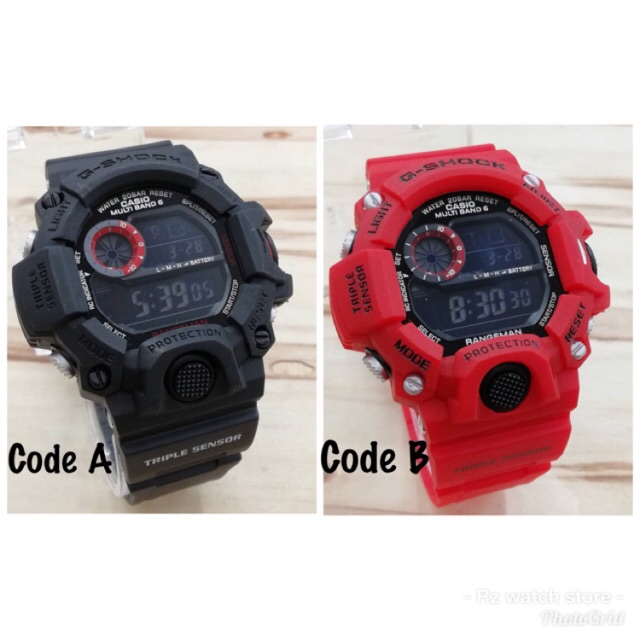 the best attitude f76ae 3117f G-shock Rangeman