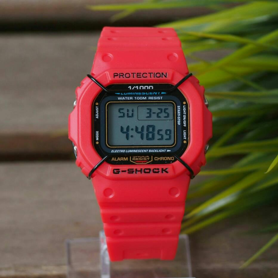 Red G Shock Price Harga In Malaysia Lelong Casio Ga 110hr 1adr Digital Limited Edition Watch