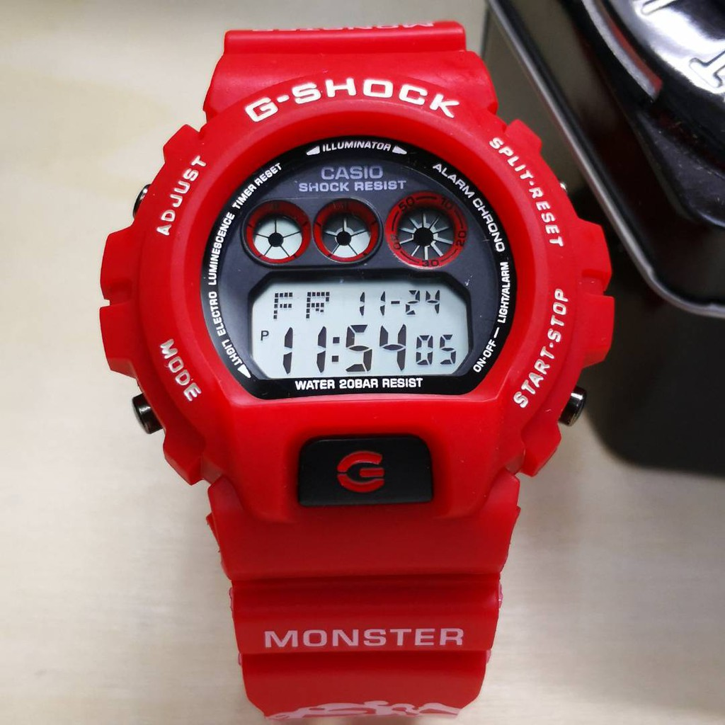G SHOCK RED MONSTER PROMOTION