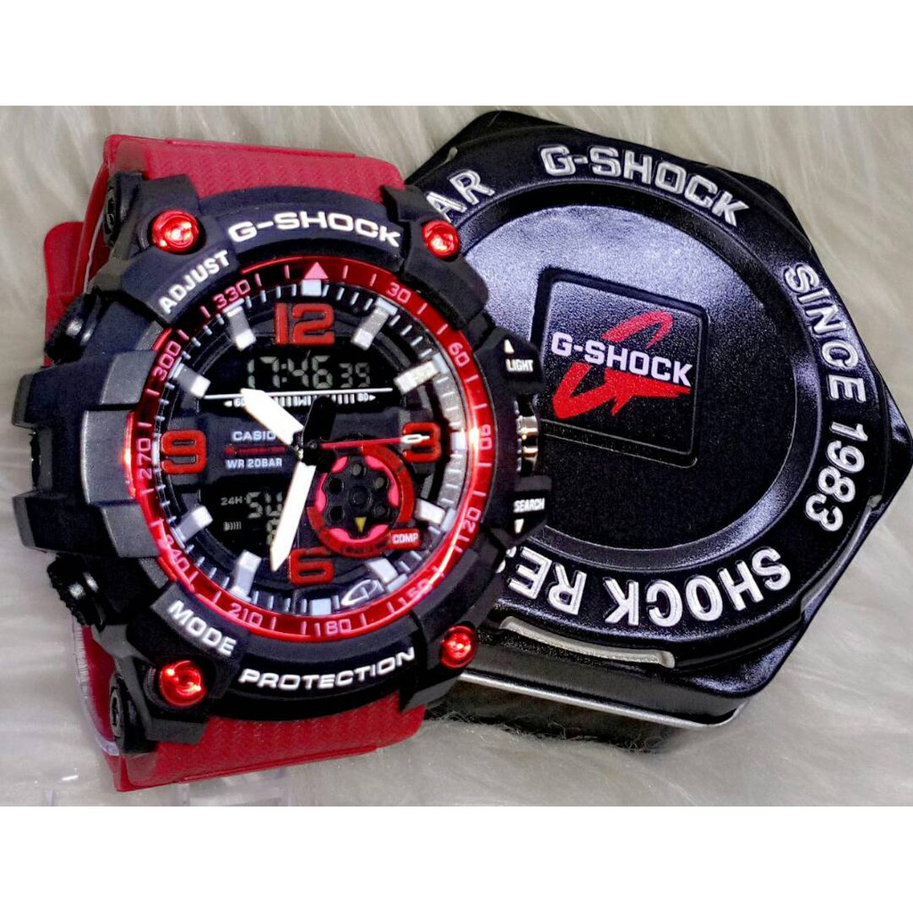 buy online d23b5 f5b5c G SHOCK WATCH RED STRAP. ‹ ›