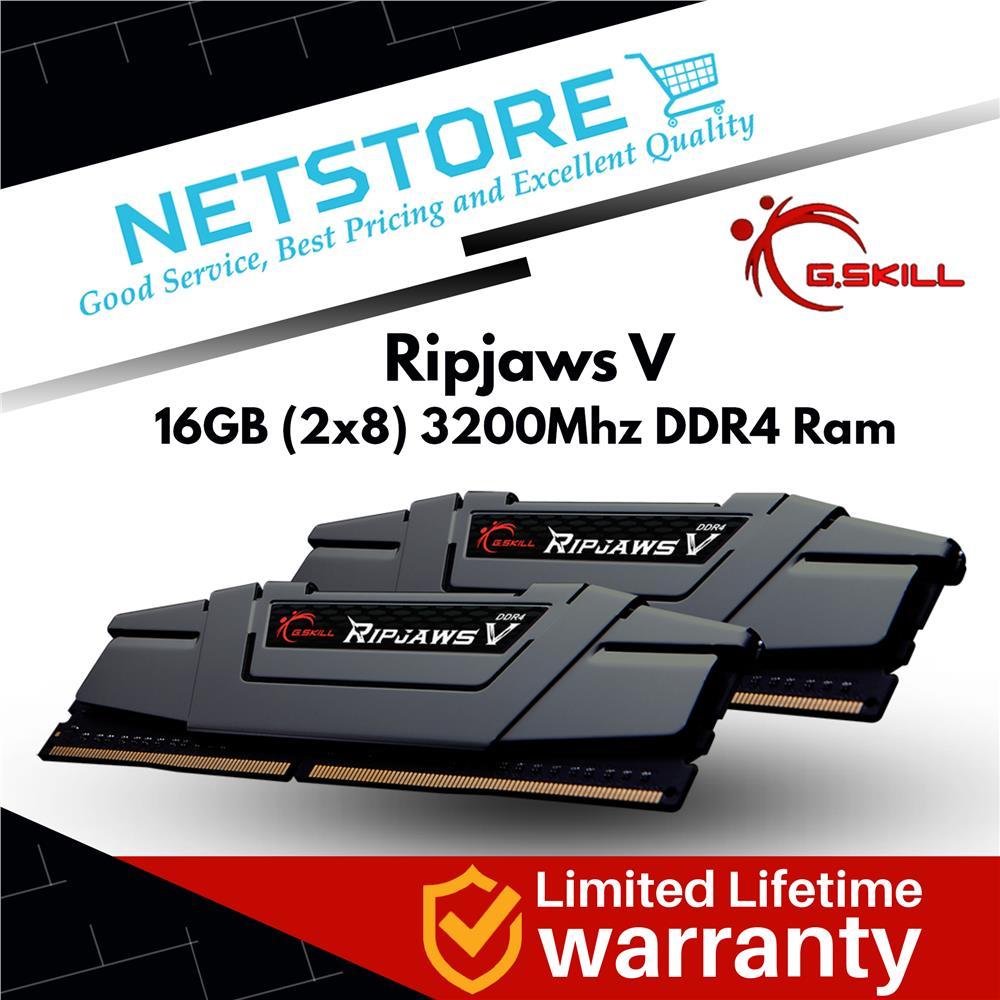 Best Ddr4 Ram 2020.G Skill Ripjaws V 16gb 8gbx2 Ddr4 3200mhz Ram F4 3200c16d 16gvgb
