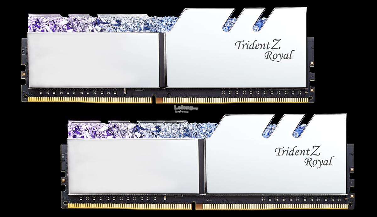 # G.SKILL Trident Z Royal 16GB (2X8GB) 3200MHz DDR4 Memory Kit #