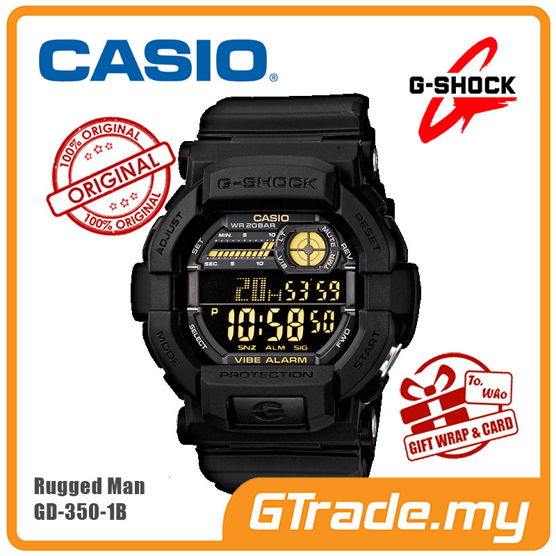 f884330f8  G-ZONE  CASIO G-SHOCK GD-350-1B Di (end 5 10 2021 12 00 AM)