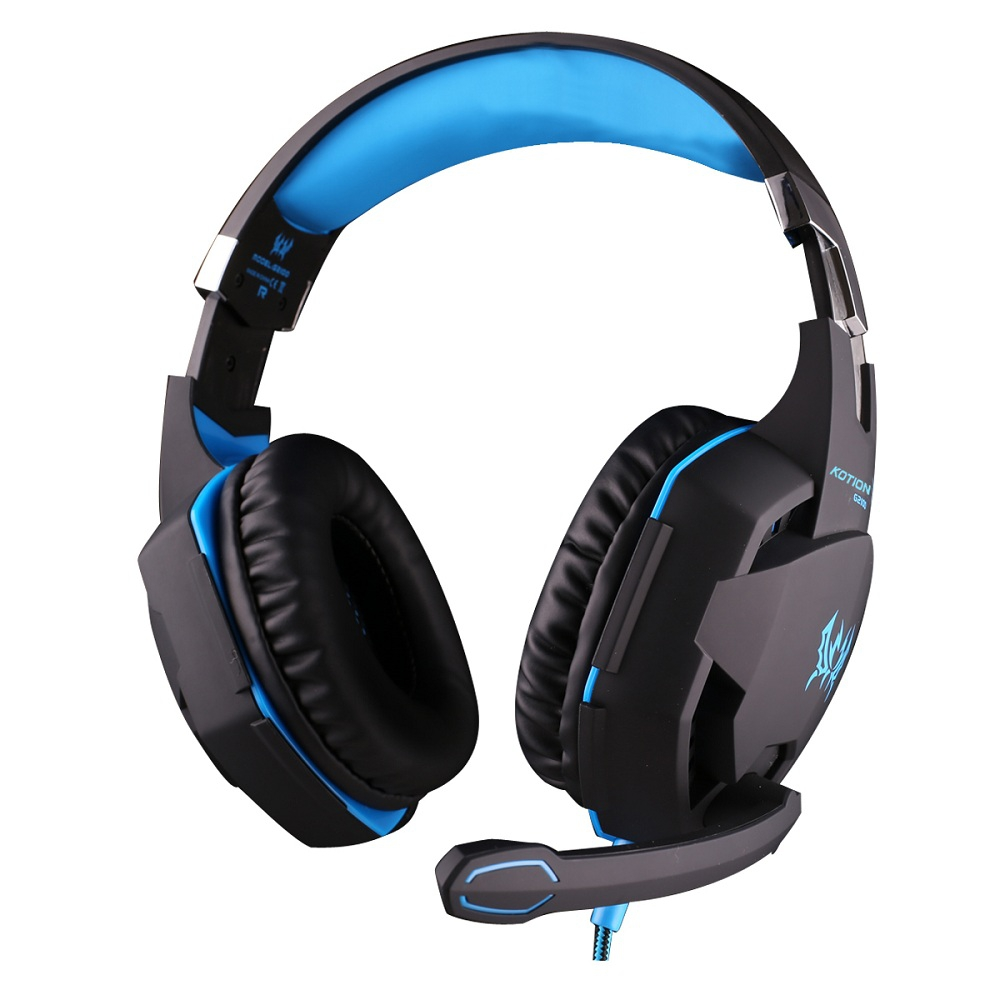 EACH G2100 GAMING HEADSET WITH VIBRATION FUNCTION HIDDEN MIC FOR COMPU..