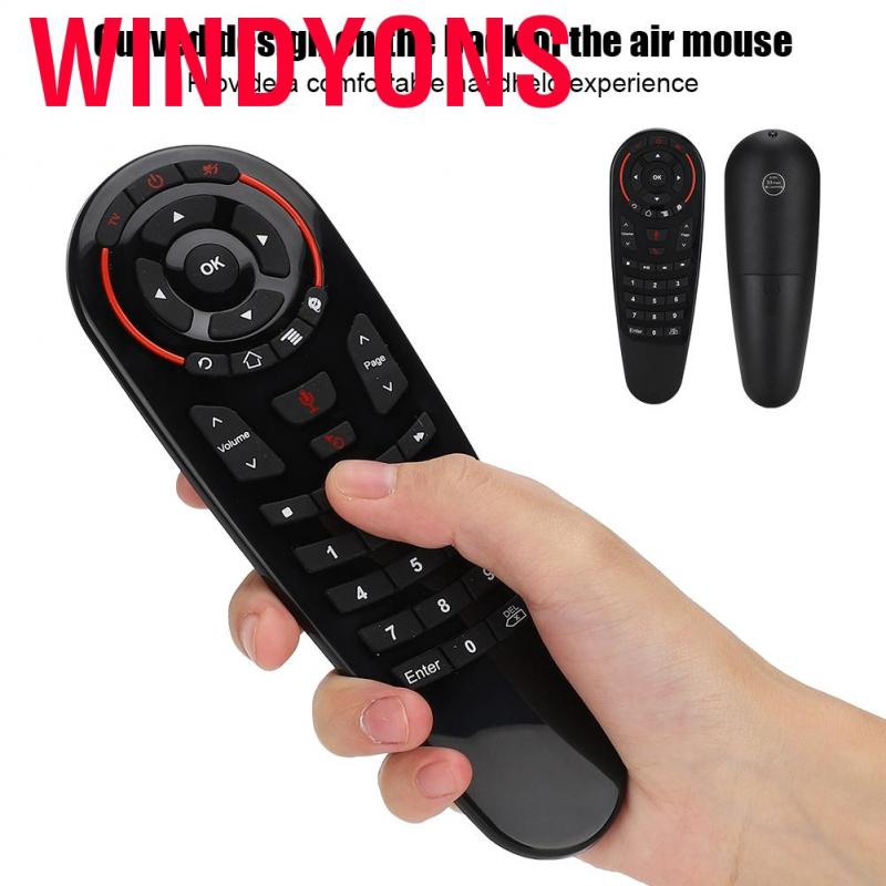 G30s USB 2.4G Transmission Intelligent Voice Remote Controller With 6-