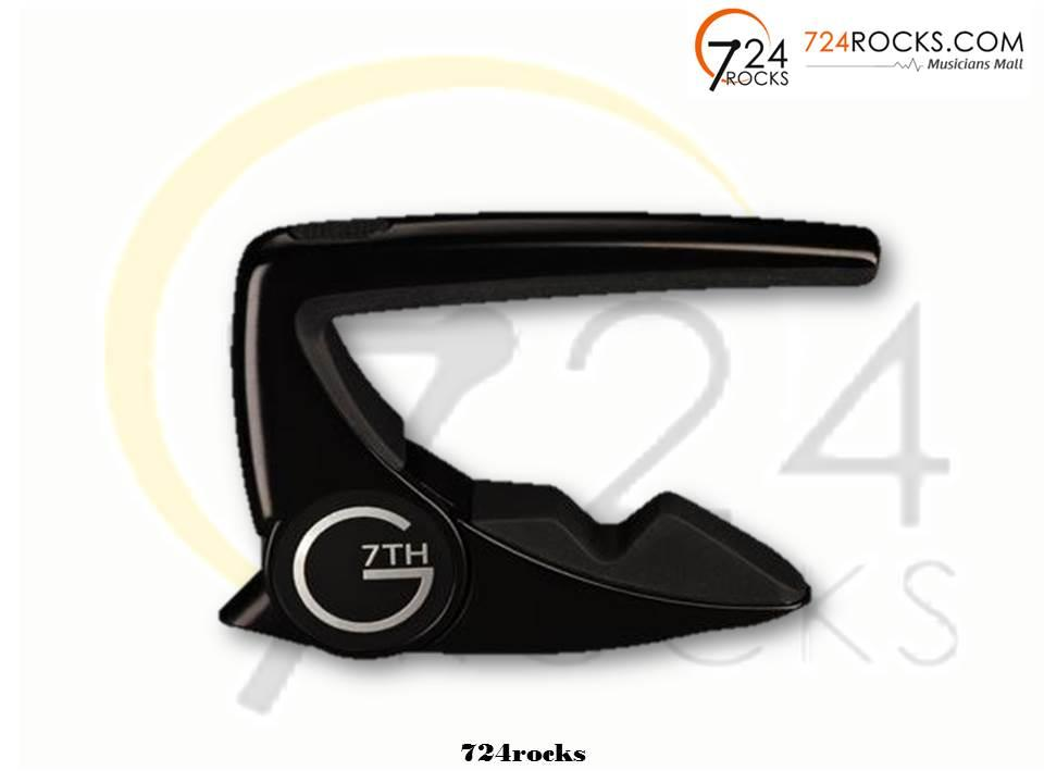G7th Performance 2 Black Satin Guitar Capo