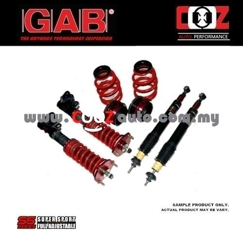 GAB Adjustable High Low Soft Hard SS Series Absorber Honda Accord 2008