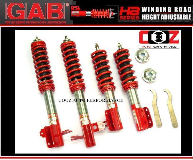 GAB HEIGHT ADJUSTABLE ABSORBER MAZDA 626 (HA-BODYSHIFT)(SPECIAL ORDER)